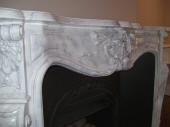 Painted Carrara Fireplace Perth