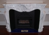 Carrara Marble Fireplace Perth