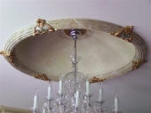 Painted Ceiling Dome, Marbled Dome, Aged Gold Ceiling Dome, Master Painter West Leederville WA 6007