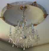 Decorative Painted Dome, Faux Marble Dome, Painted Ceiling Rose, Decorative Paint Finish, Best House Painter Perth