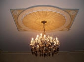 Decorative Painting Perth, Painted Ceiling Dome, Painted Ceiling Rose, Professional Painter Perth Creative Colours