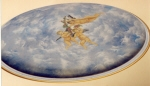 Painted Ceiling Dome, Painted Sky, Painted Sky Dome Perth, Painted Clouds, Painted Cherubs, Painted Angels