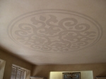 Painted Ceiling Pattern, Decorative Effects Painting Perth, Polished Plaster, Ceiling Rose, Ceiling Dome Perth