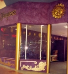 Gold Painting, Tuscan Paint, Gold Horoscope, Suede Paint Effects, Purple Paint, Painting Shop, Temptress Perth