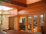 Clear Coated Woodwork Varnished Decking Painted Beams French Doors Perth Western Australia