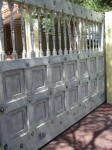 Rustic Painted Gate, Aged Gate, Decorative Painting Perth WA 6000