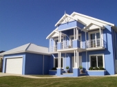 Blue & White House Painting, Exterior Painting Mindarie, Creative Colours, House Painter Mindarie WA 6030