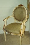Painting to chair to match Antique French Furniture