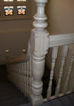 Dragged Balustrade with Ageing