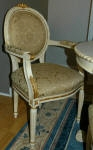 Painted Chair to match Antique Furniture