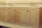 Woodgraining to Cupboards