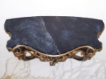 Painted Nero Marquina Spanish Marble on Table