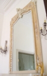 Colourwash & Ageing to Antique French Mirror