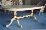 Dining table painted to match French Furniture