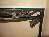 Three Colour Decorative Paint Finish to Hall Table