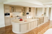 Two Colour Paint Finish to all Kitchen Cabinetry