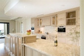 Kitchen Cabinetry in Two Colour Finish