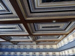 Painted Coffered Ceiling, Vaulted Ceiling Perth, Professional House Painting Perth, Painter Dalkeith WA 6009