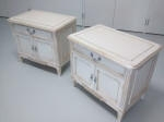 The two Bedside Cabinets