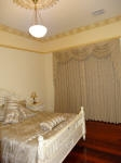 Bedroom Painting, Gold Highlights, Plaster Cornice, Antique Bed, French Bed, French Wash, House Painter West Leederville