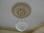 Heritage Plaster Mouldings, Painted Ceiling Rose, Karl Saxon Creative Colours, Master Painter Mt Lawley WA 6050