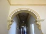 Painted Archway, Painted Corbels, Plaster Corbels, Decorative Painting, Interior Design Perth, Painter Dalkeith WA 6009