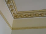 Decorative Plaster Cornice, Moulded Cornice Perth, Heritage House Perth, Home Painting Cottesloe WA 6011, Yellow Paint