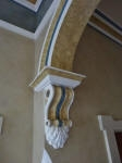 Heritage House Painters Creative Colours Perth WA, Residential Painter Dalkeith, Painted Plaster Arch, Moulded Arch