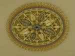 Beautiful Painting, Painted Ceiling Rose, Plaster Ceiling Rose, House Painter Applecross, Residential Painter Ardross