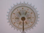 Plaster Ceiling Rose, Gold Leaf, Liquid Gold, Painted Effects, Heritage Home Painting, Karl Saxon Creative Colours, Gold Rose