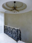 French Wash, Painted Dome, Marbled Dome, Iron Paint, Painted Handrail, Venetian Plaster, Premium Residential Painter