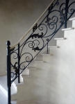 French Washed Walls, Wrought Iron Scrolls, Black Balustrade, Liquid Gold, Faux Marble, Marbled, Creative Colours Perth