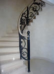 French Washed Walls, Wrought Iron Perth, Black Balustrade, Stencilled Floor, Faux Marble, Marbled, Creative Colours Perth
