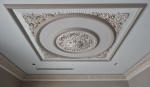Ornate Ceiling Perth, Plaster Ceiling Panel, Plaster Ceiling Rose, Plaster Cornice, House Painter Cottesloe Creative Colours