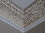 Moulded Plaster Cornice Perth, Plaster Cornice, Painted Cornice, Premium Painting Perth, Creative Colours Painting Perth