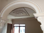 Plaster Archway, Plaster Mouldings, Decorative Plaster, Creative Colours Painting, Ceiling Rose, Master Painter Dalkeith