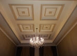 Plaster Coffered Ceiling, Plaster Ceilings Perth, Painted Coffered Ceiling, Painted Panelled Ceiling, Hampton Style Perth