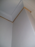 Gold Cornice, Gold Leaf, Liquid Gold Paint, Pale Blue Walls, French Wash, Interior Exterior House Painter Cottesloe WA 6011