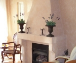 Painted Effects, Bauwerk Lime Paint, Bauwerk Painter, Painted Fireplace, French Wash, Venetian Plaster, Tuscan House Paint