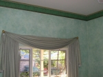 French Wash, Green Painted Room, Heritage Painting, Federation Painting, Moulded Plaster Cornice, Premium Painting WA
