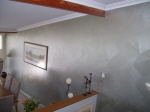 Metallic Painting, Metallic Silver Paint, Painted Lounge Walls, Pearl Paint, Shimmer Paint, Creative Colours Painting Perth