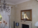 French Wash, Beige Painted Walls, Painted Lounge Room, Painted House Cottesloe, Venetian Plaster Cottesloe, Karl Saxon