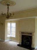 Colourwash Walls, Gold Leaf, Plaster Ceiling Rose, Marbled Fireplace, French Wash, Heritage Painting Perth, Painter Perth