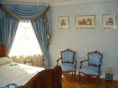 French Furniture, French Wash, Powder Blue Walls, Porters Paints Speciality Finishes, Painted Bedroom, Creative Colours
